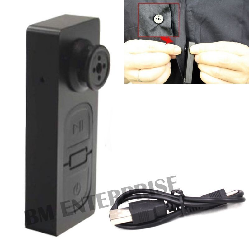 Buy Spy Mini Button S-918 Button Pinhole Hidden Camera With Digital Audio Video Recorder With USB Cable online