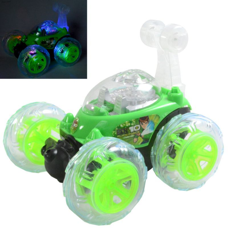 Buy 17Cm Rechargeable Radio Control Rc Stunt Twister Car Kids Toys Remote online
