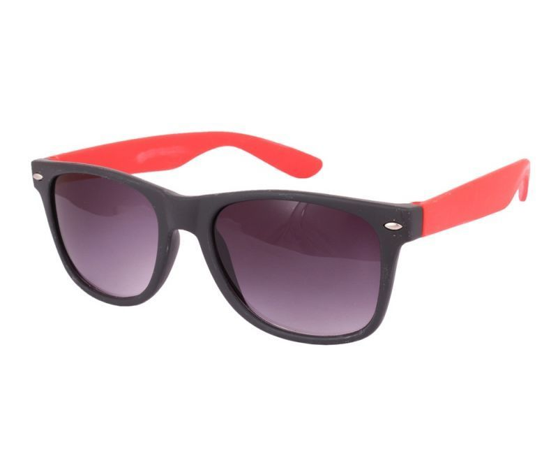 Buy Sushito Youth Fashion Black Red Sunglass For Men online