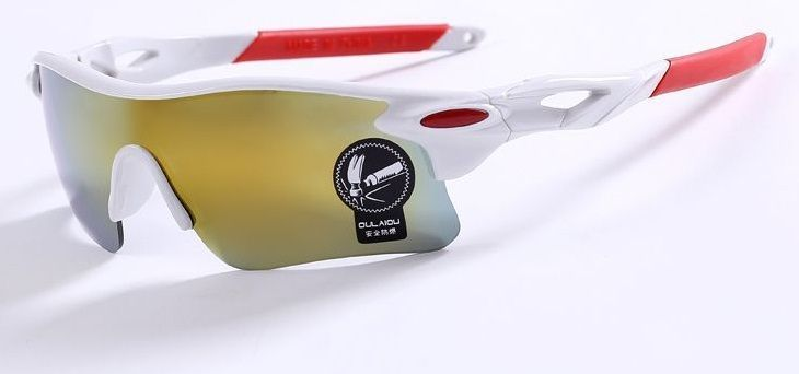 Buy White Mirror Sports Driving Sunglasses 9181wh online