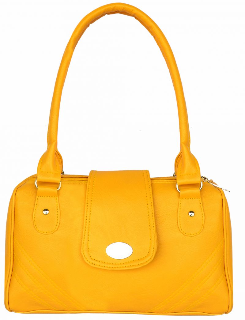 Buy All Day 365 Yellow Colour Shoulder Bag For Women online