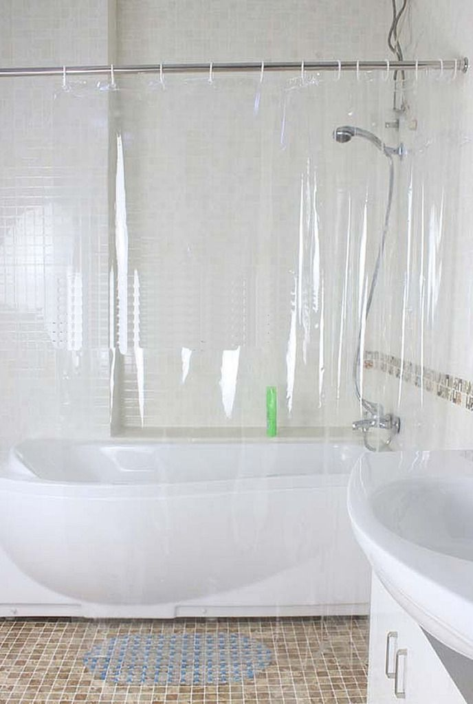Buy Glassiano 0.25mm PVC Transparent Curtain online