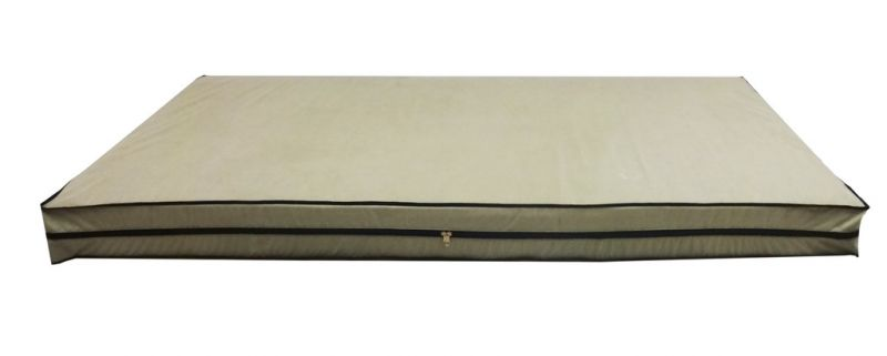 Buy Glassiano Dust & Water Proof Twin Beige Zipper Mattress Cover (36
