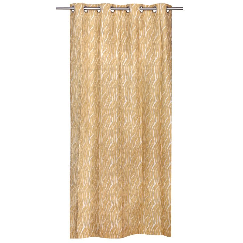 Buy Be Gold Jacquard Contemporary Design Door Curtain online
