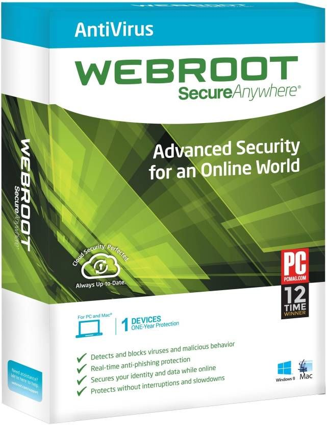 Buy Webroot Secureanywhere Antivirus Licence Key online