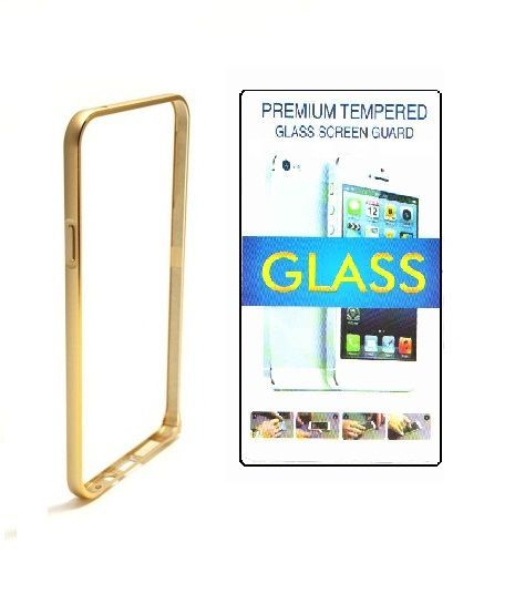 Buy Maxlive Bumper For Apple iPhone 5g With Tempered Glass online