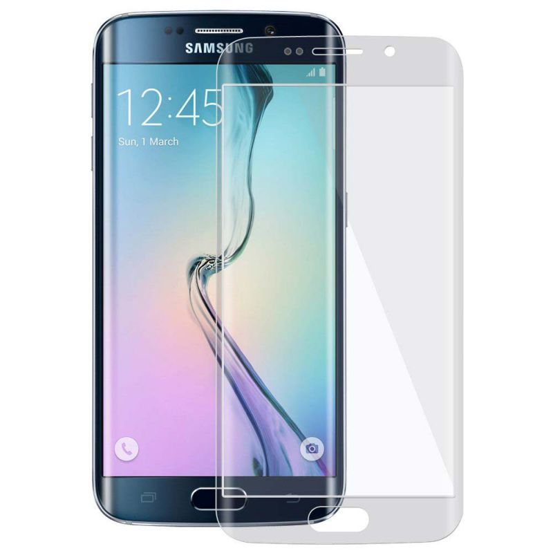 Buy Samshi Tempered Glass Screen Protector For Samsung Galaxy S6 EDGE Plus-grey online