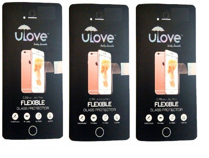 Buy Flexible Tempered Glass Lenovo A6000 (pack Of 3) online