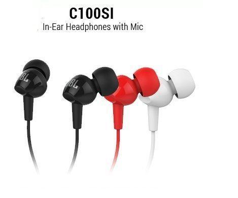 Buy Jbl C100 In-ear Headphones 3.5mm Jack With Mic - OEM online