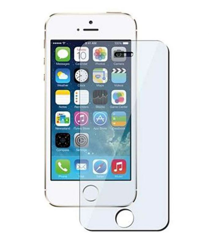 Buy Tempered Glass Screen Protector For Apple iPhone 5s. online