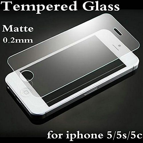Buy Ikazen Premium Anti-fingerprint Matte Tempered Glass Screen Protector For Apple iPhone 5 5s 5c online