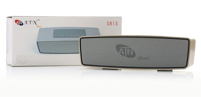 Buy Atn Gold S815 Soundlink Mini HiFi Bluetooth Portable Supports USB Micro-sd Card Bluetooth Mobile/tablet Speaker online