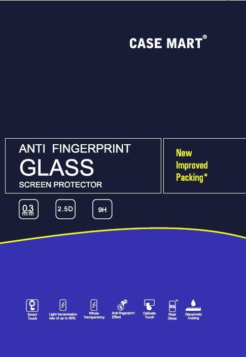 Buy Case Mart Transparent Lenovo K3 Note Tempered Glass online