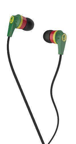 Buy Skullcandy S2ikdz 058 Ink'd 2.0 Earbud Headphones (rasta) online