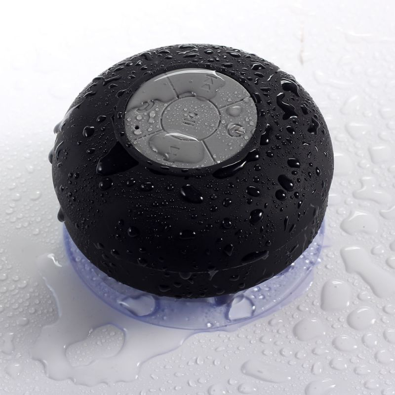 Buy Bluetooth,shower Waterproof Portable (bts-06) Mobile/tablet Speaker Black online