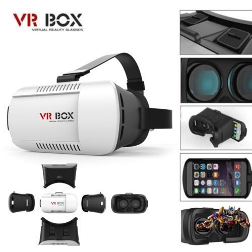Buy Vr Box-vr Virtual Reality 3d Glasses For Smart Phones online