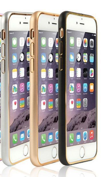 Buy Apple iPhone 6 Plus Two Tone Ultra Thin Aluminium Bumper Case online