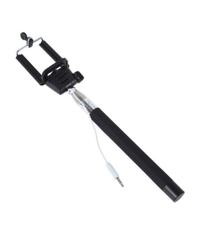 Buy Z07-5s Selfie Stick - Black For Your Smart Phones online