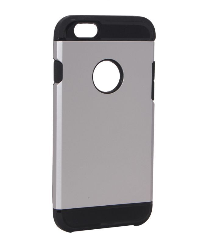 Buy Spigen Silver Silicone Back Cover For Apple iPhone 6 online