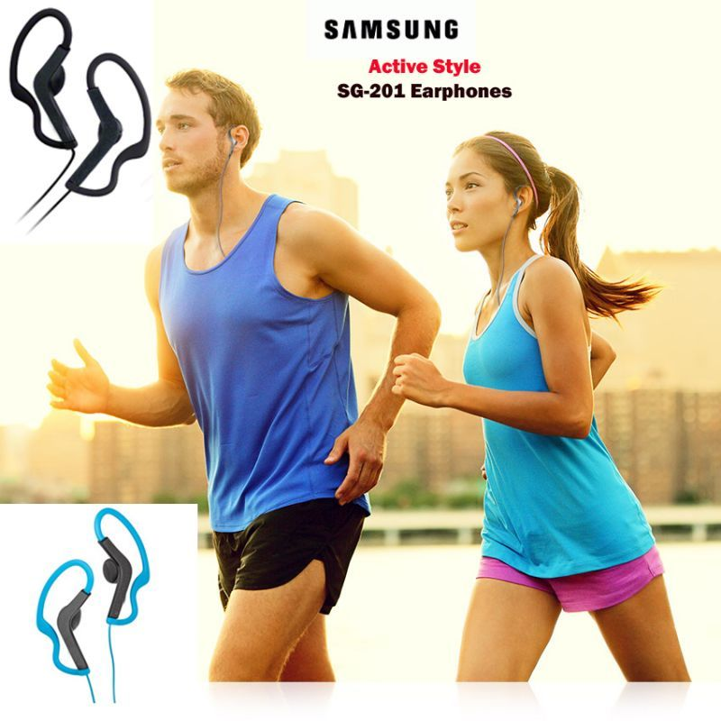 Buy Samsung OEM Sg-201 Active Style Sports Earphones With Mic online