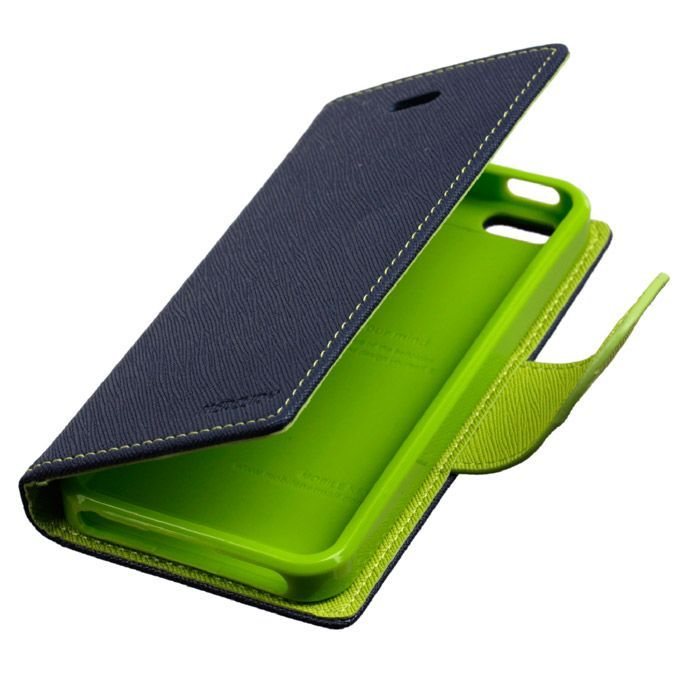 Buy Mercury Flip Cover For Samsung Galaxy J7 Blue Green online