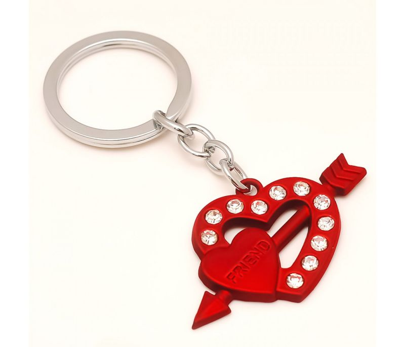 Buy Sanaa Creations Combo Of Connected Friend Heart Shape Pendant Either Use As Keychain/Pendant online