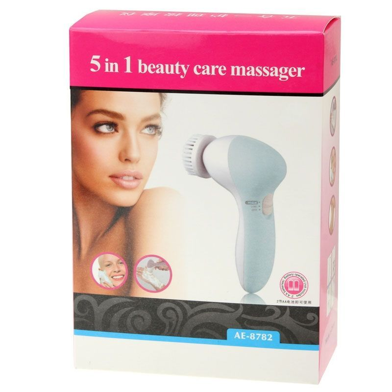 Buy 5 In 1 Beauty Care Brush Massager Electric Facial Cleanser online