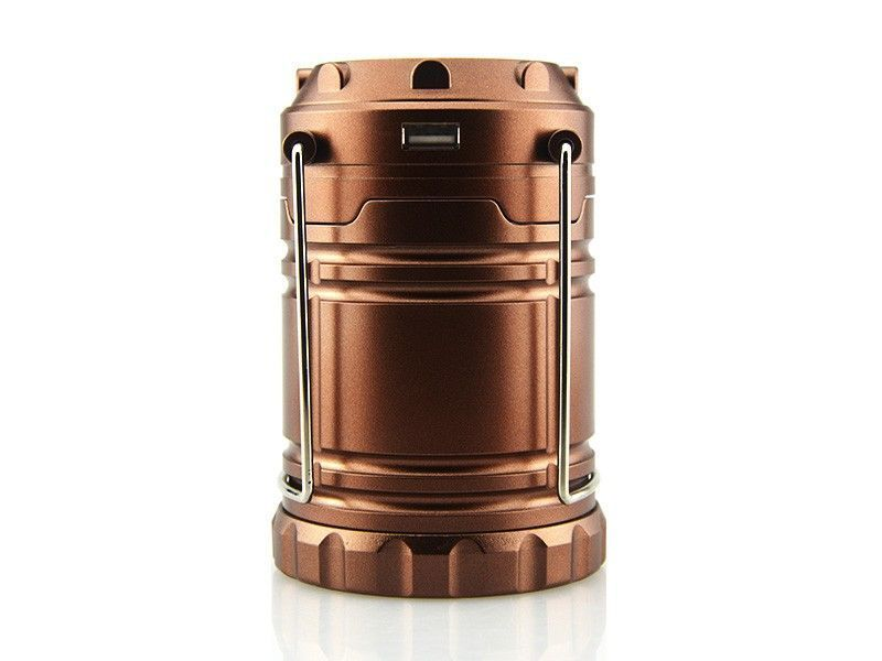 Buy Solar Zoom Rechargeable LED Camping Lantern Lamp With Hooks online