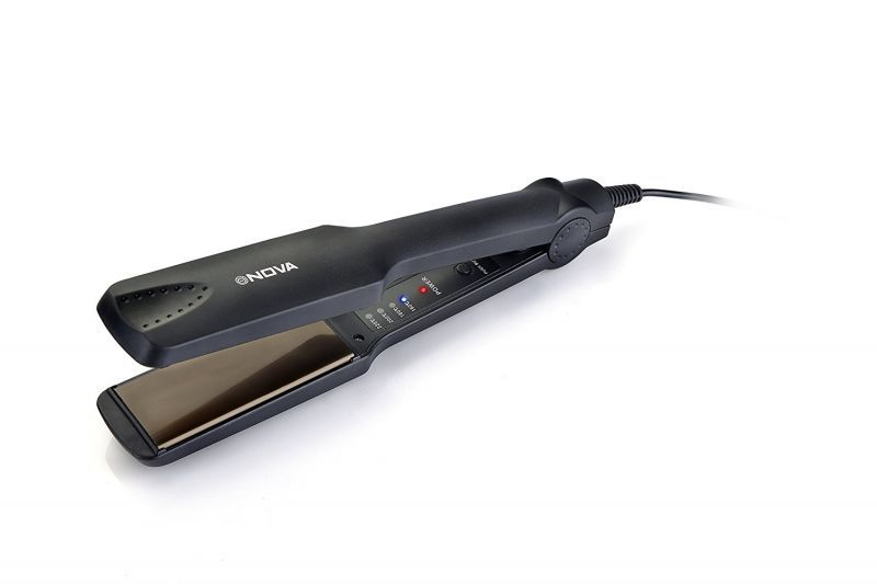 Buy Nova Nhs 860 Temperature Control Hair Straightener (black) online