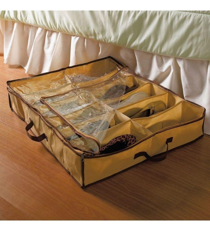 Buy 12 Pair Under Bed Shoe Organizer online