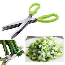 Buy 5 Blade Vegetable Stainless Steel Herbs Scissor online