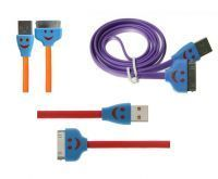 Buy Apple iPhone 4/4s Smiley LED USB Cable online