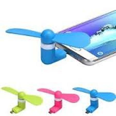Buy Mini Micro USB Mobile Fan Portable online