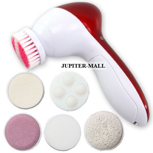 Buy 6 In 1 Rotating Massager & Callous Remover Body Face Facial Beauty Care -27 online