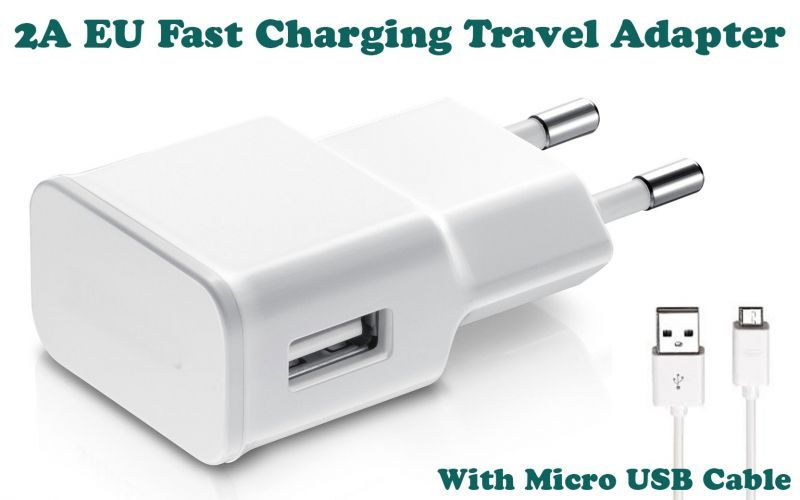 Buy Gadget Hero''s 2a USB Fast Wall Charger For Samsung & Others online
