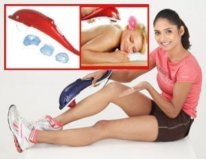 Buy Dolphin Massager Easily Full Body Massage Comes With 3 Interchangeable Head online