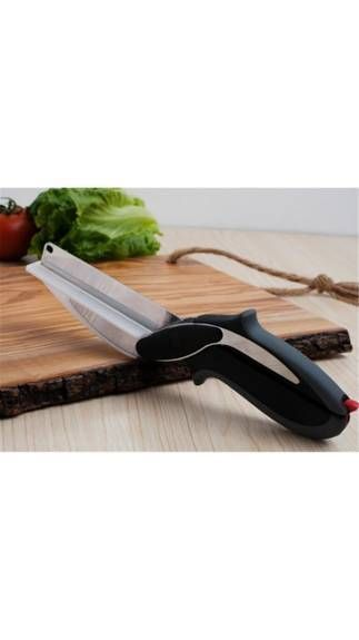 Buy Snr Clever Cutter 2-in-1 Knife & Cutting Board Scissors As Seen On TV online