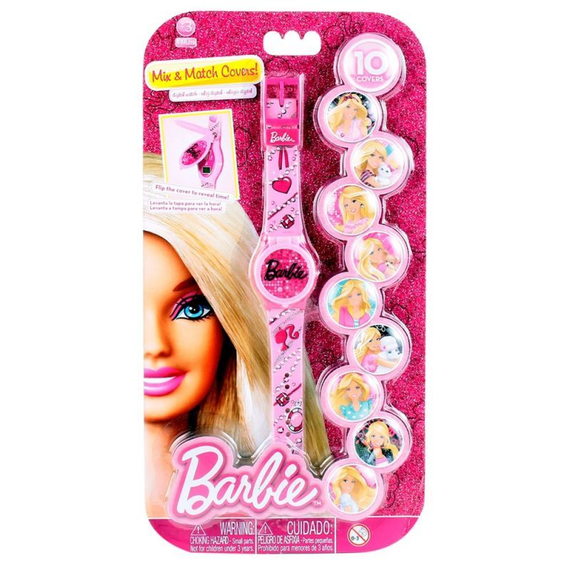Buy Only Kidz Barbie Mix And Match Covers Digital Watch online