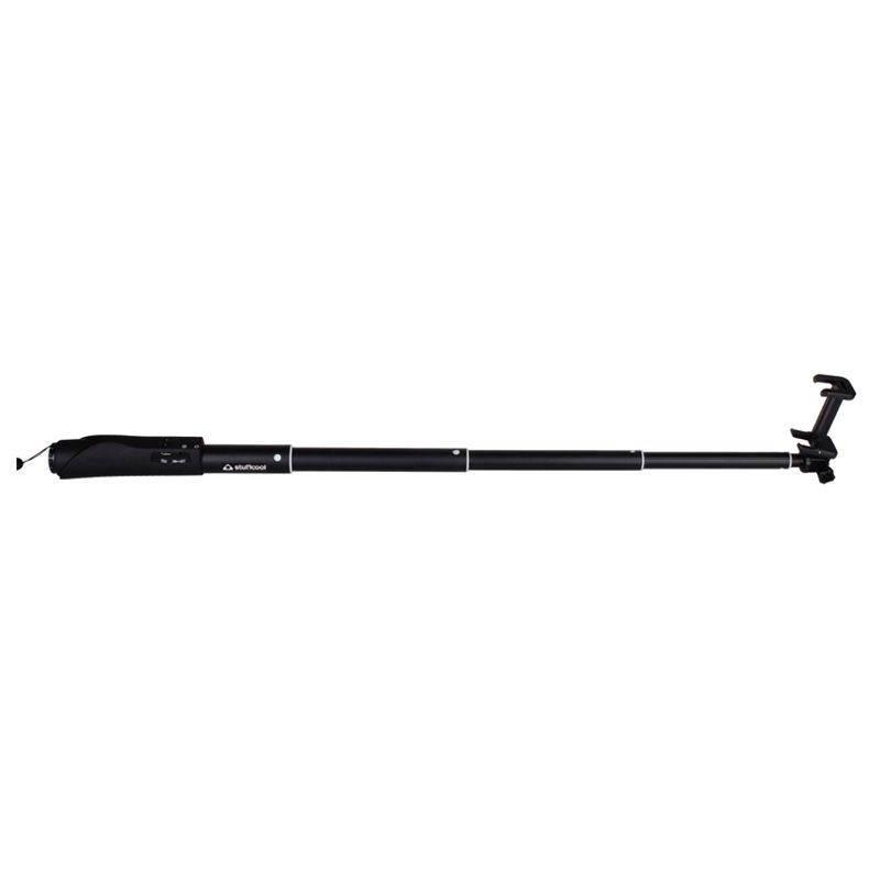 Buy Stuffcool Shutter Bluetooth Selfie Stick - Matte Black online