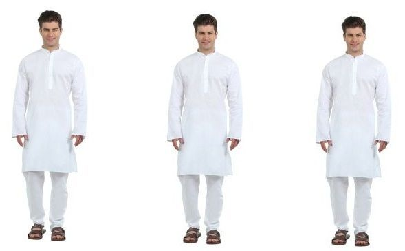 Buy Korel 3 Classic White Kurta Set For Men online