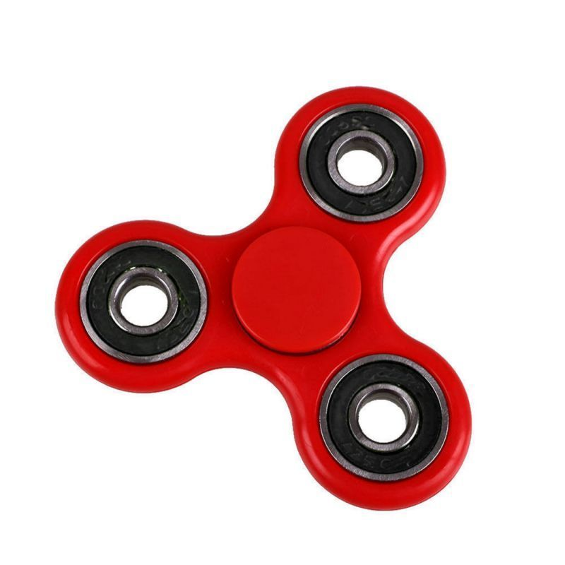 Buy Set Of 3 Fidget Hand Spinner For Fun, Anti-stress, Focus, Adhd, Anxiety & Autism online