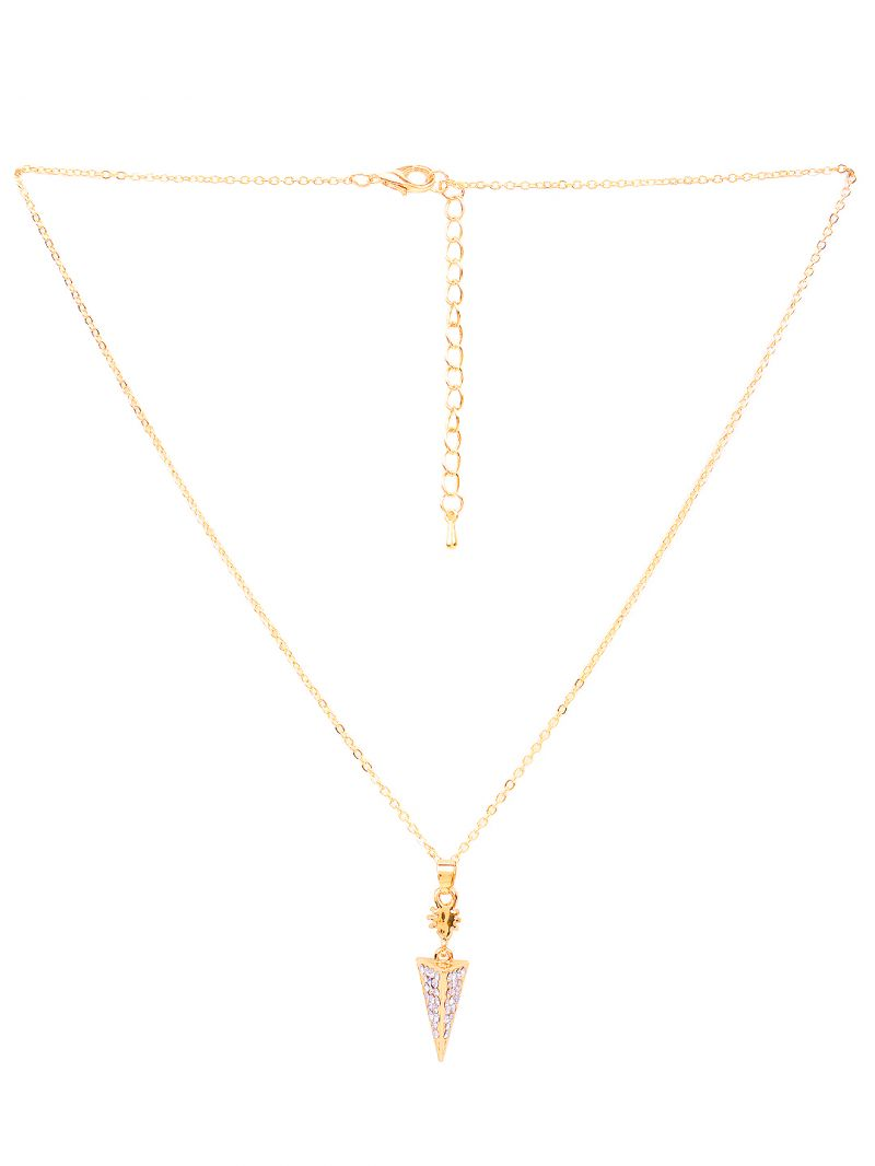 Buy Rubans Gold Neck Chain & Pendant Code- R100003 online