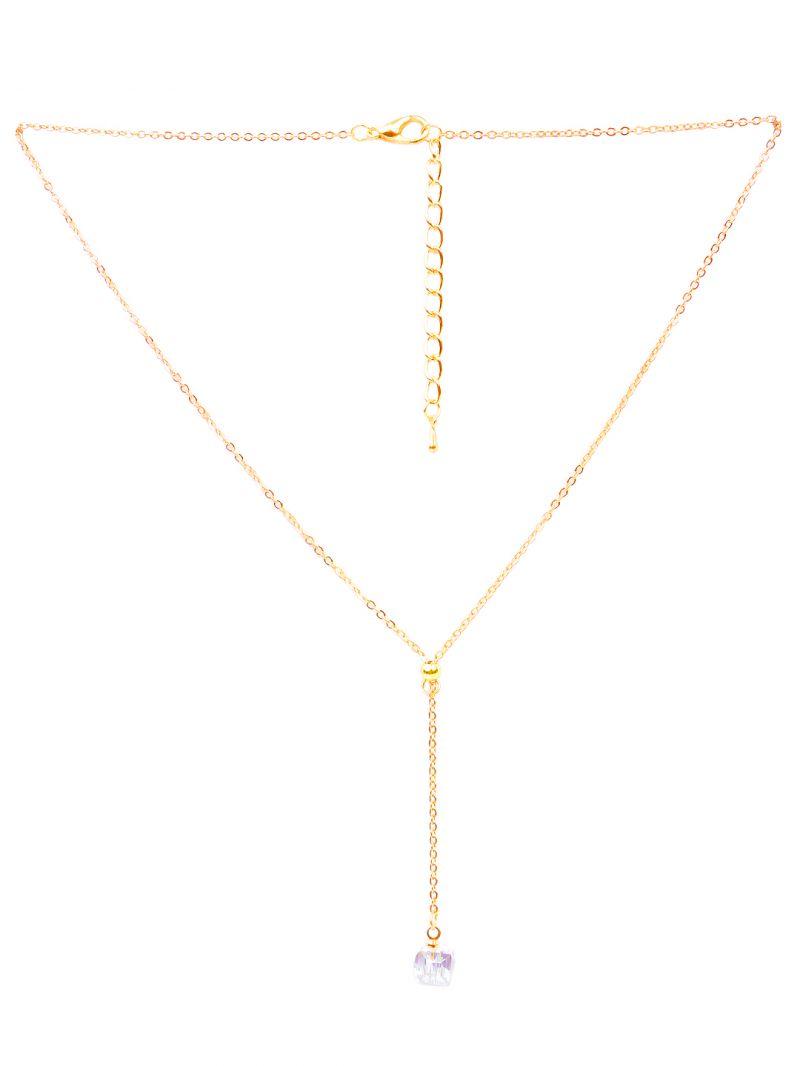 Buy Rubans Gold Neck Chain & Pendant Code- R100007 online