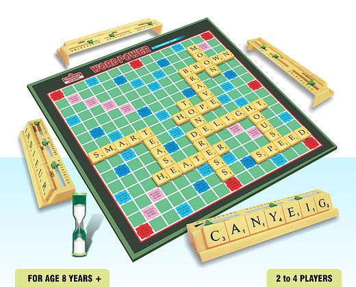 Playmate Word Power Premium Board Puzzle