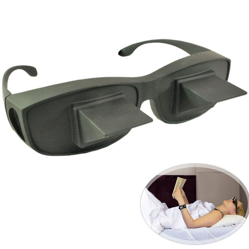 Buy Lazy Reader 90 Degree Angel Horizontal Book Reading Periscope Glasses online