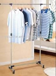 Buy Home Basics Portable Single Pole Telescopic Clothes Hanger online