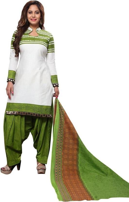 9385ad1281 Buy Elegant Cotton Patiyala Unstitched Dress Material Salwar Suit  (code-balpat1112) online