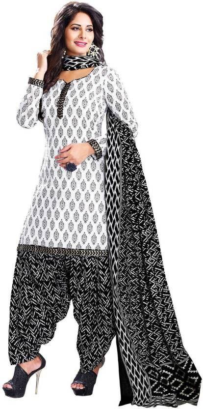 ffb099991a Buy Elegant Cotton Patiyala Unstitched Dress Material Salwar Suit online