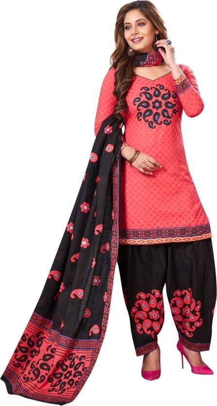 c2f99c045d Buy Elegant Cotton Patiyala Unstitched Dress Material Salwar Suit  (code-p1208) online