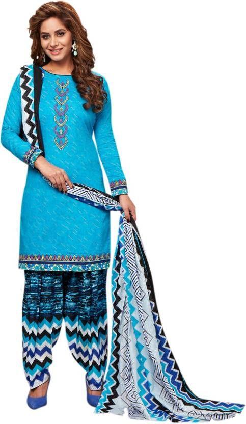 9f60d79813 Buy Elegant Cotton Patiyala Unstitched Dress Material Salwar Suit  (code-p1219) online